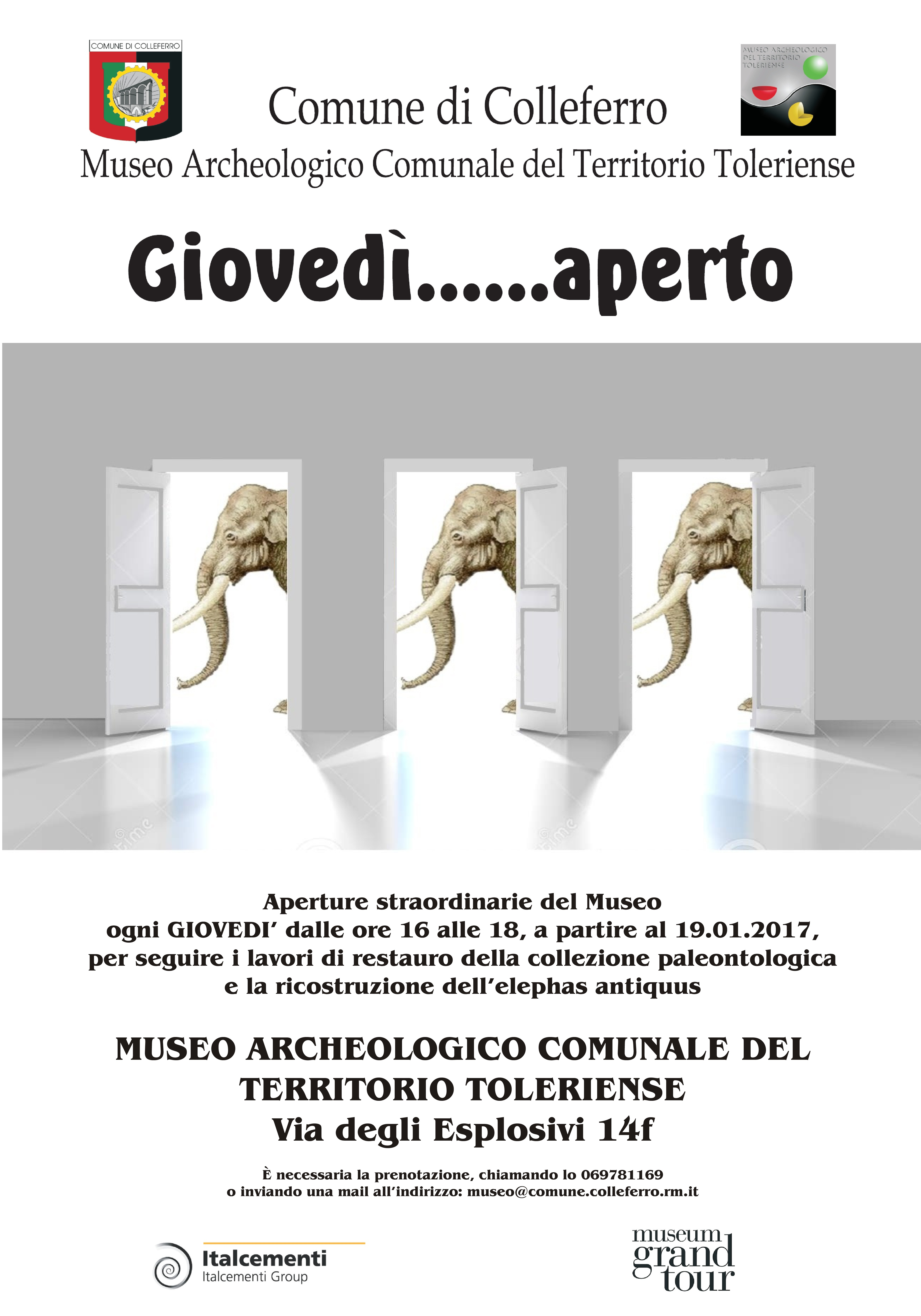museo giovedì