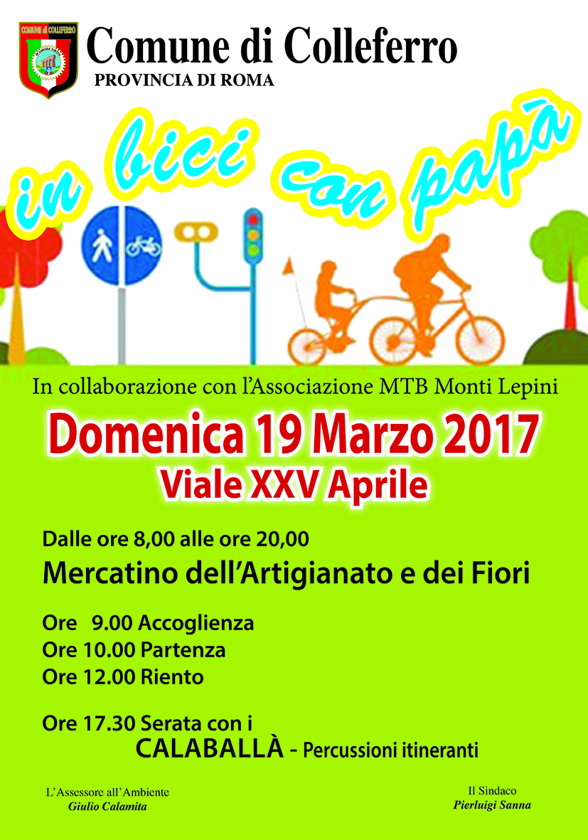 19 marzo in bici